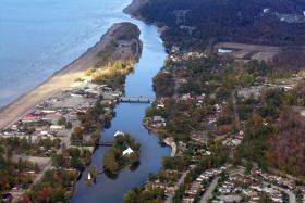 Wasaga Beach Area 1, Nottawasaga River mound and Nancy Island.