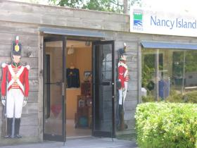 Entrance to Nancy Island Provincial Park, Wasaga Beach